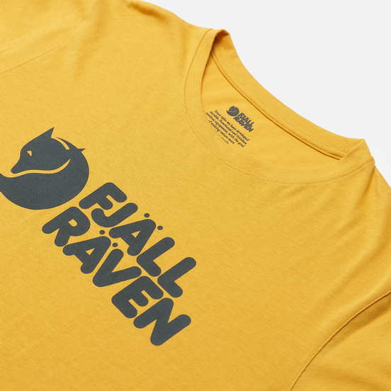 Мужская футболка Fjallraven Fjallraven Logo M Ochre