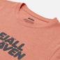 Мужская футболка Fjallraven Fjallraven Logo M Rowan Red/Melange фото - 1