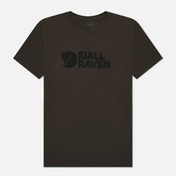 Мужская футболка Fjallraven Fjallraven Logo M Dark Olive