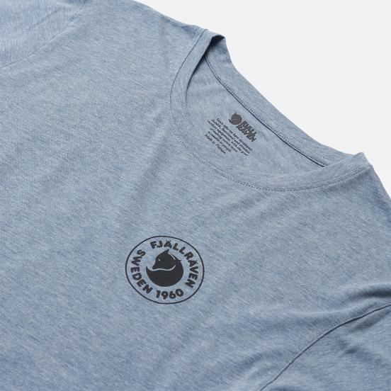 Мужская футболка Fjallraven 1960 Logo M Uncle Blue/Melange