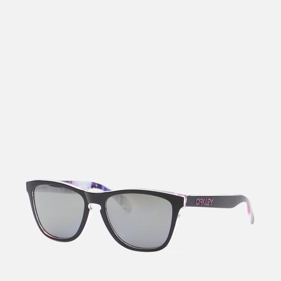 Солнцезащитные очки Oakley Frogskins Kokoro Collection Meguru Spin/Prizm Black