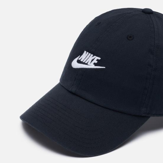 Кепка Nike Heritage86 Futura Washed Black/Black/White