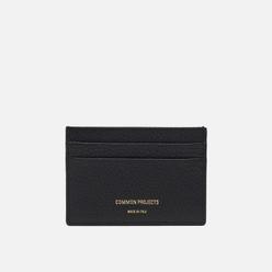 Держатель для карточек Common Projects Multi Card Holder 9179 Black Textured