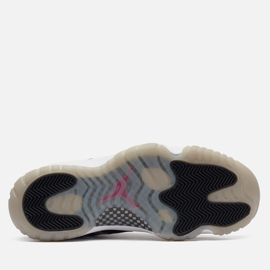 Мужские кроссовки Jordan Air Jordan 11 Retro Low IE Black Cement Black/Fire Red/Cement Grey/White