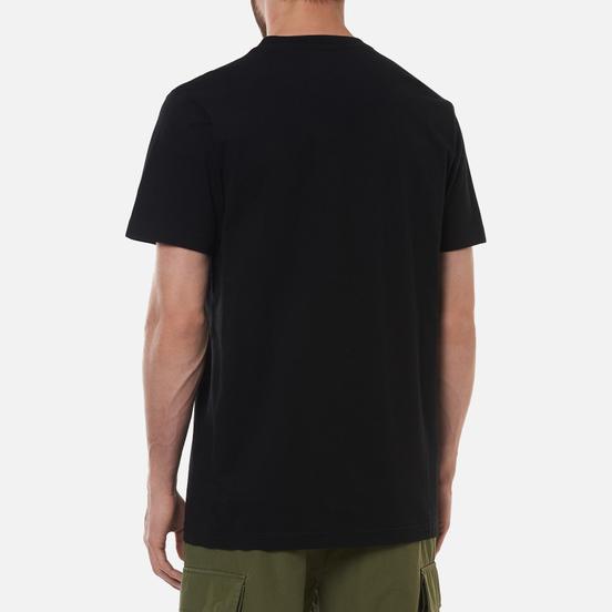 Мужская футболка maharishi Year Of The Spider Ox Black