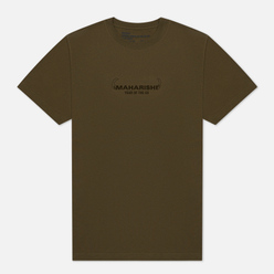 Мужская футболка maharishi Ushi-Oni Ox Olive