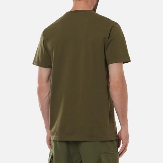 Мужская футболка maharishi Maha Miltype 21 Olive