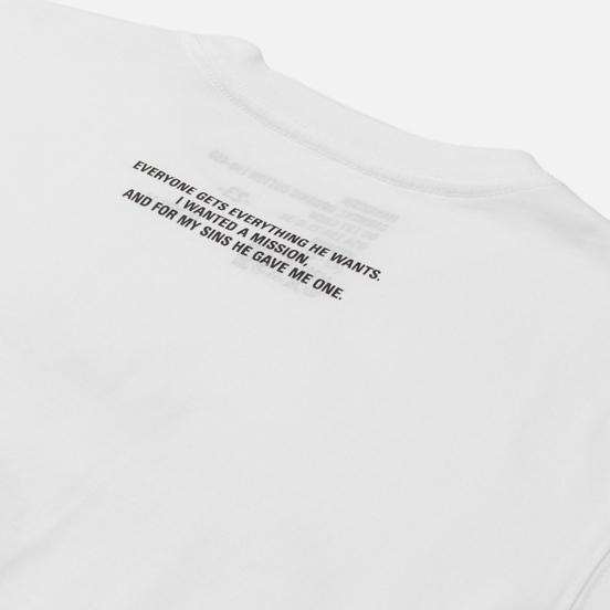 Мужская футболка maharishi Apocalypse White
