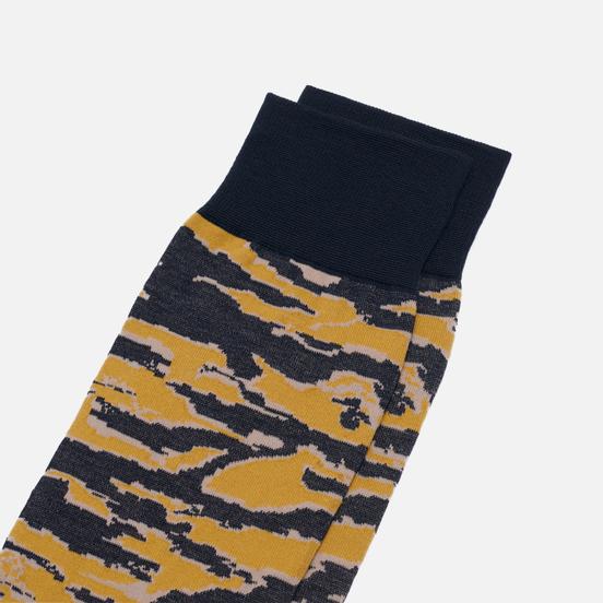 Носки maharishi Tiger Stripe Camo Jacquard Tiger Stripe Gold