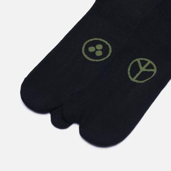 Комплект носков maharishi Miltype Tabi 3-Pack Black/Black/Black