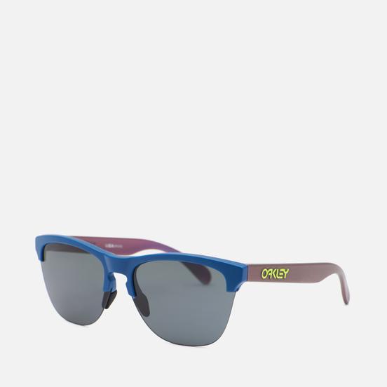 Солнцезащитные очки Oakley Frogskins Lite Matte Poseidon/Green/Purple Colorshift/Prizm Grey