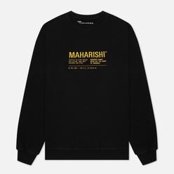 Мужская толстовка maharishi Maha Miltype 21 Crew Neck Black