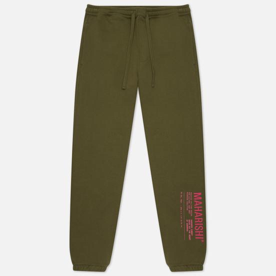 Мужские брюки maharishi Maha Miltype 21 Track Olive