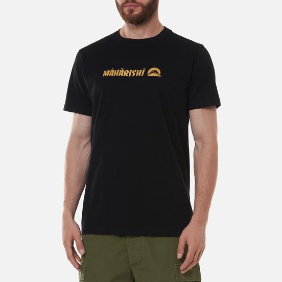Мужская футболка maharishi Maha Gold Tailor Black