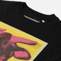 Мужская футболка maharishi Warhol Lunar Ox Black фото - 1