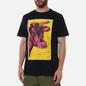 Мужская футболка maharishi Warhol Lunar Ox Black фото - 2