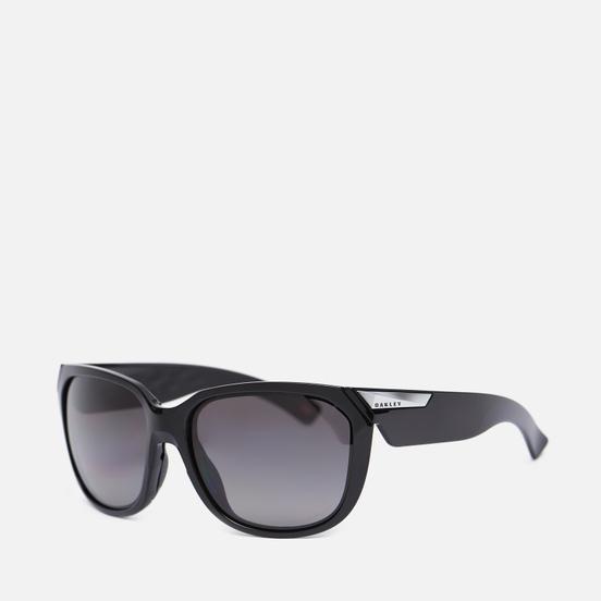 Солнцезащитные очки Oakley Rev Up Polarized Polished Black/Prizm Grey Gradient Polarized