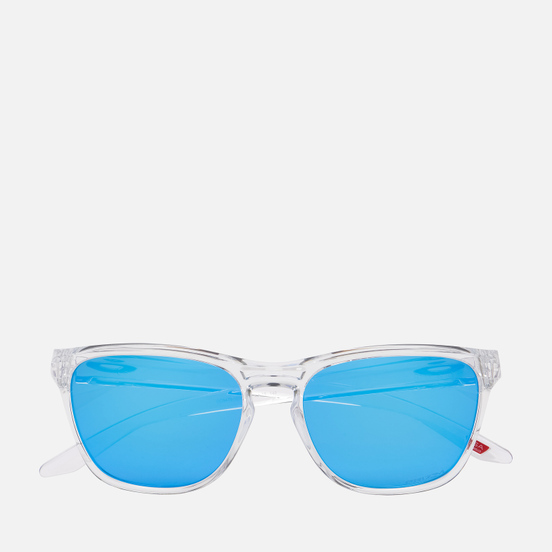 Солнцезащитные очки Oakley Manorburn Polished Clear/Prizm Sapphire