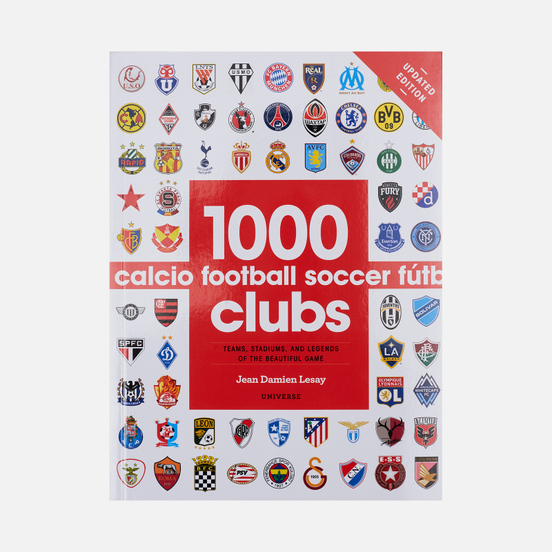 Книга Universe Publishing 1000 Football Clubs