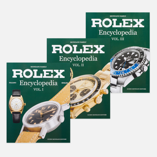 Комплект книг Guido Mondani Editore Rolex Encyclopedia 3 Volumes