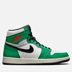 Женские кроссовки Jordan Air Jordan 1 High OG Lucky Green Lucky Green/Black/White/Sail