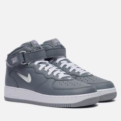 Кроссовки Nike Air Force 1 Mid QS NYC Cool Grey/White/Metallic Silver