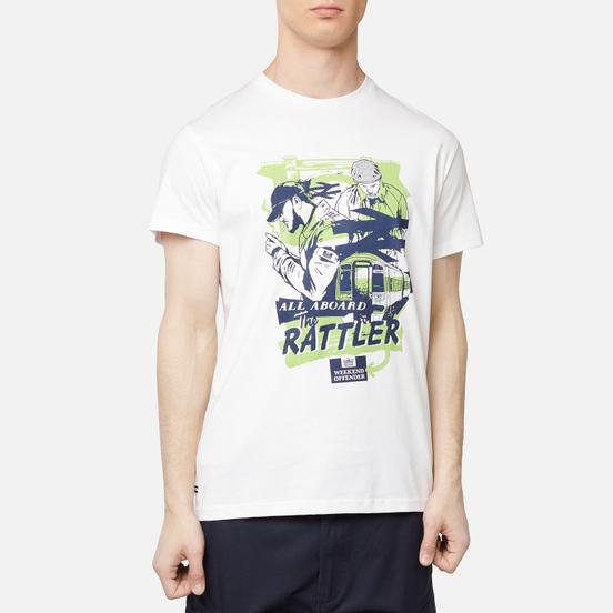 Мужская футболка Weekend Offender Rattler White
