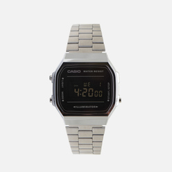 Наручные часы CASIO Collection A-168WEM-1E Silver/Black