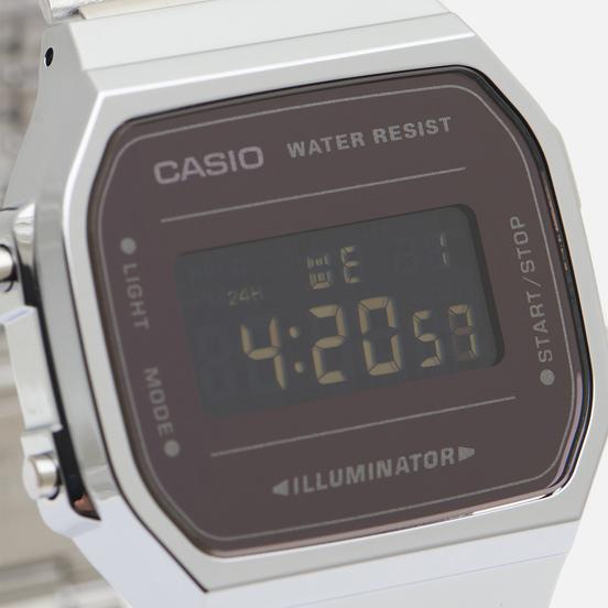 Наручные часы CASIO Collection A-168WEM-1E Silver/Black
