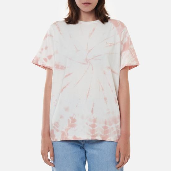 Женская футболка Levi's Graphic Jet Tie-Dye Dark Evening Sand