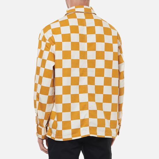 Мужская джинсовая куртка Levi's Portola Chore Fez Check Egret