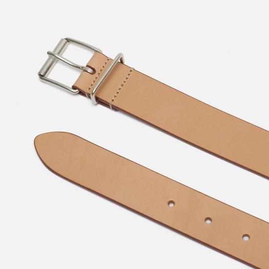 Ремень Anderson's Narrow Casual Leather Beige