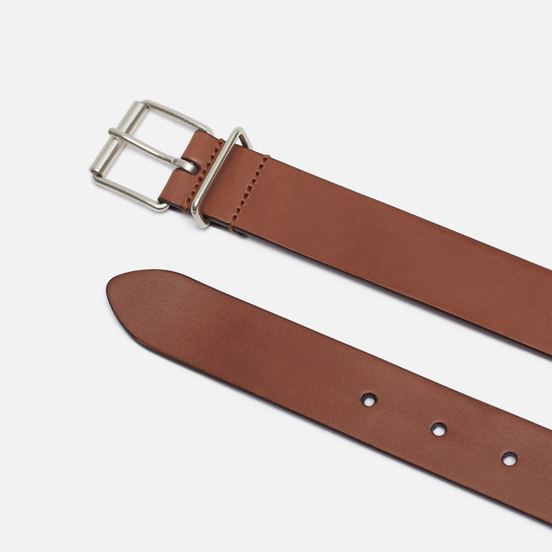 Ремень Anderson's Narrow Casual Leather Brown
