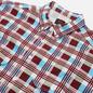 Мужская рубашка Levi's Skateboarding LS Woven Printed Burgundy/Blue фото - 1