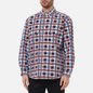 Мужская рубашка Levi's Skateboarding LS Woven Printed Burgundy/Blue фото - 3