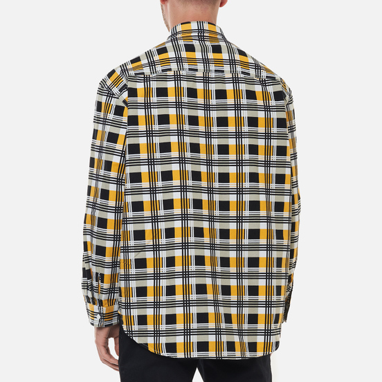 Мужская рубашка Levi's Skateboarding LS Woven Printed Black/Yellow