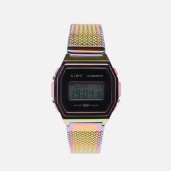 Наручные часы CASIO Vintage A1000PRW-1ER Multi-Color/Black