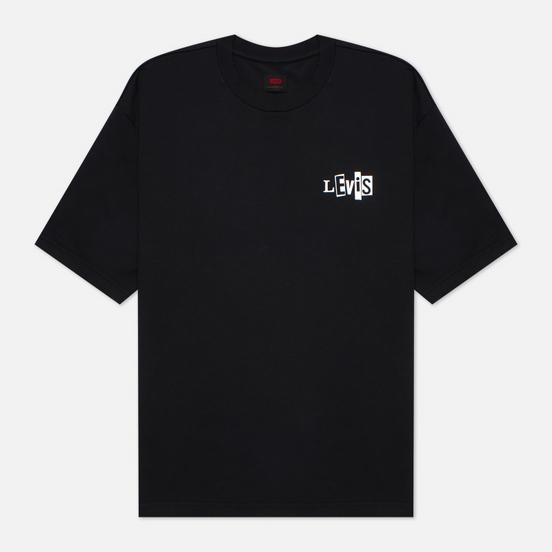 Мужская футболка Levi's Skateboarding Graphic Box LSC Black/Core Batwing Black