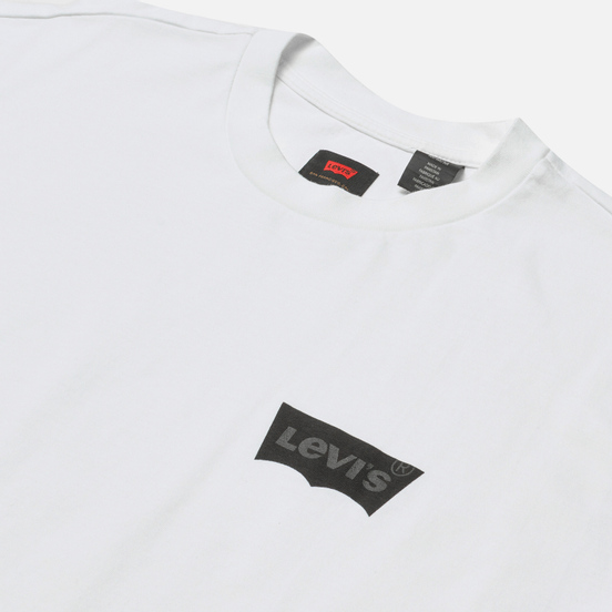 Мужская футболка Levi's Skateboarding Graphic Box LSC White/Core Batwing Black