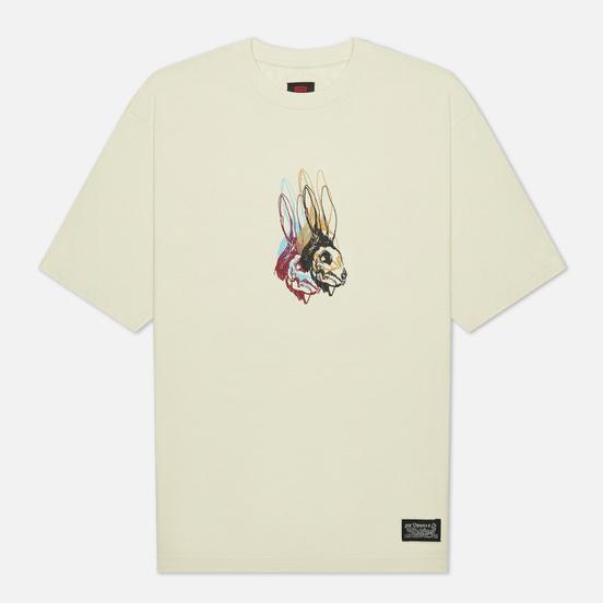 Мужская футболка Levi's Skateboarding Graphic Box Rabbit Skull/Off White