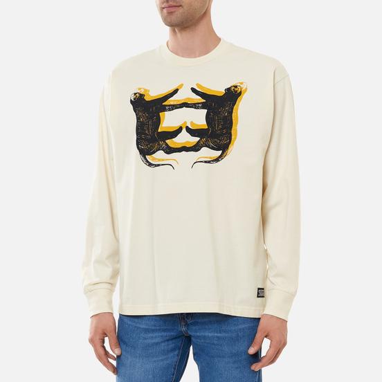 Мужской лонгслив Levi's Skateboarding Graphic Box Leopard/Off White