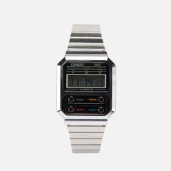 Наручные часы CASIO Vintage A100WE-1AEF Silver/Silver/Black