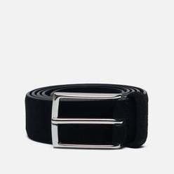 Ремень Anderson's Suede Leather Semi Formal Black