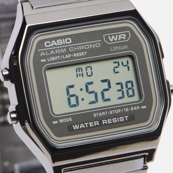 Наручные часы CASIO Vintage A158WETB-1AEF Black/Black/Black