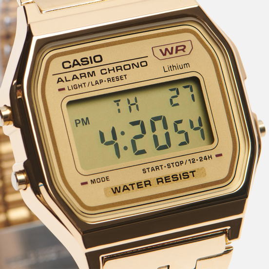 Наручные часы CASIO Vintage A158WETG-9AEF Gold/Gold/Gold