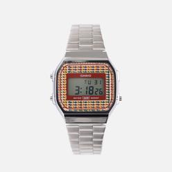 Наручные часы CASIO Vintage A168WEF-5AEF Silver/Red