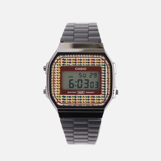 Наручные часы CASIO Vintage A168WEFB-5AEF Black/Red