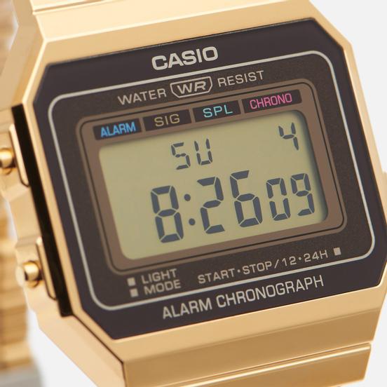 Наручные часы CASIO Vintage A700WEG-9AEF Gold/Black