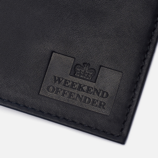 Кошелек Weekend Offender Leather Black