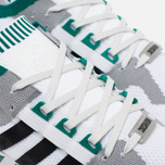 adidas Originals EQT Running Guidance 93 Primeknit Sneakers White/Grey/Green photo- 5